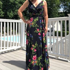 Le Lis floral maxi dress from stitch fix